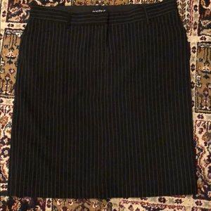 Dresses & Skirts - Black Pinstripe Skirt